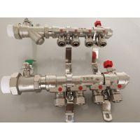 东营厂家批发 接PERT地暖管材 地暖分集水器纯铜