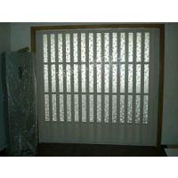 供应西安PVC折叠门商铺防火折叠门吊趟门房间隔断门亚克力玻璃折叠门