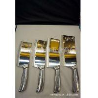 韩国湖冰点钢刀 不锈钢砍切两用刀 前切肉后斩骨菜刀厨师刀具