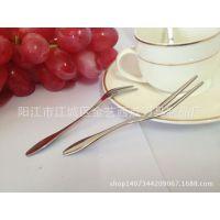 金艺西点刀具制品厂直销不锈钢生日蛋糕叉 2014***精致款蛋糕叉。