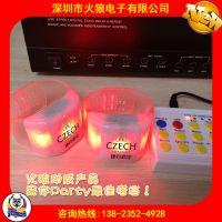 LED发光助威产品|无线遥控闪光用品|高科技电子产品遥控发光手环
