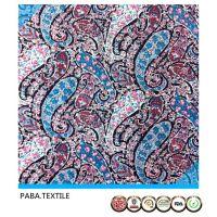 高品质600S斜纹人造棉布人棉印花