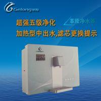 深圳GELONG革隆家用净水器招商加盟厂家 加热型水箱内置反渗透纯水机 厨房RO净水机十大品牌