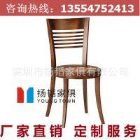 实木椅子广场烧烤桌椅户外家具碳化桌椅 可拆卸实木餐桌椅