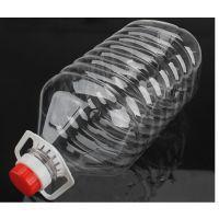 山东济宁厂家专业生产5Lpet食用油桶 透明塑料桶 油桶 酒桶