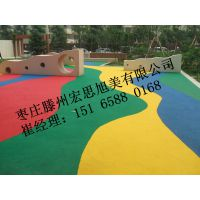 枣庄EPDM塑胶厂家直销,枣庄彩色防滑塑胶地面地坪施工,价格***低,保用8-10年