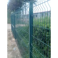 慕源厂家直销三角折弯护栏网_市政|小区|机场|港口围栏