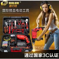电动工具手电钻家用冲击钻螺丝刀多功能套装两用电锤电转枪装修