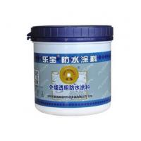 福龙轩乐宝外墙透明防水涂料 环保防水涂料厂家直销