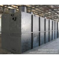 陕西榆林市小区一体化污水处理设备安装使用