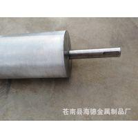 定制加工各类输送机网纹辊,表面镀硬铬/镀锌