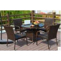 阳台桌椅藤椅茶几三件套 休闲椅卧室客厅 庭院户外家具组合藤椅子