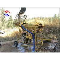 新疆小型选金机 东威DW-XJ车轮式底盘可移动的沙金设备厂家