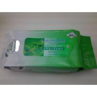 60片珍珠纹老人消毒卫生湿巾OEM生产厂家 纯棉湿纸巾加工oem
