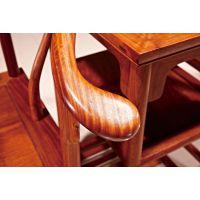 缅甸花梨圈椅古典实木沙发价格厂家_大古树家具