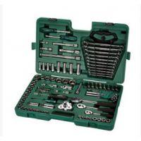 世达120件套120+1/121件套 汽车维修工具套筒扳手套装组合09014a