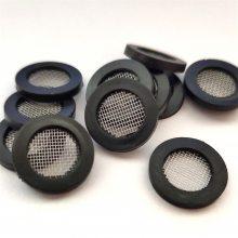 供应碗形过滤网垫片橡胶帽形过滤网片