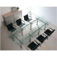 【促销】供应玻璃会议桌 时尚洽谈会议桌