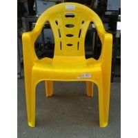 塑胶靠背椅 扶手椅 大排档餐桌椅 夜宵超强承重PP塑料凳子