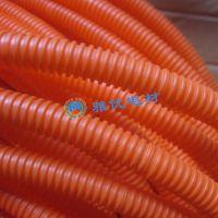 厂家精品机动车灯饰家居电缆线束护套PA橙色波纹管11*14环保尼龙