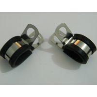 福莱通R型管卡 金属管夹 汽车用金属线夹厂家直销 R型配线固定钮