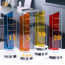 10周年庆典纪念品,10周年奖杯,庆典活动嘉宾礼品,10周年数字摆件