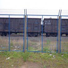 铁丝护栏网 三角折弯护栏 体育场围网