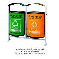 新型分类环保垃圾桶厂家供应创意设计环卫不锈钢垃圾桶