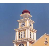康巴丝户外大型挂钟 墙面建筑金属大钟 学校建筑物时钟