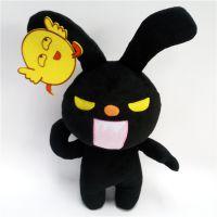 来图来样定做 毛绒玩具魔鬼鸡仔兔子公仔活动礼品 可印logo
