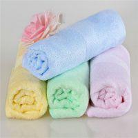 山东厂家批发 宏春100%竹纤维毛巾 广告促销面巾