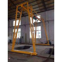优质小型龙门吊车间简易行车宇起牌航吊生产厂家刘经理13673527885