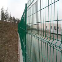 环航供应小区防护网 绿色包塑铁丝网 三角折弯护栏网