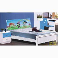 新款儿童家具 1.5米板式家具儿童床 小卧室家居床 厂家批发
