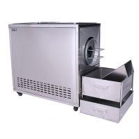 宏兴供应新款燃气炒货机 燃气加热电动搅拌炒货机