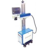 欧码光纤F20高速激光喷码机主要可应用于黑色PE管表面打码