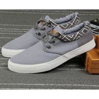 厂家大量供应男士帆布鞋 质量好价格便宜