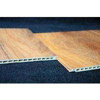 华仑观色厂家定做出口定做高分子竹木纤维板60公分pvc发泡集成塑料板MQ系列