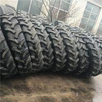 供应前进大型拖拉机人字花纹轮胎 12-38