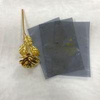 华北 蓝色半透明防静电屏蔽袋 电路板防静电包装袋 APET/CPP