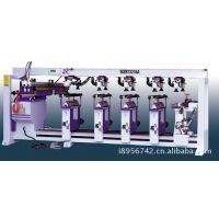 PLC自动木工六排钻性能指标|气动型木工自动多排多轴钻床性能图片
