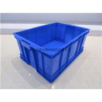 棱角4号塑料箱 嘉兴塑料箱 零件物流箱