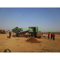南京六合区土沙筛分设备东威80方滚筒筛沙机优质厂家