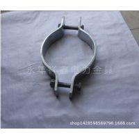 (祥鑫电力)厂家生产优质镀锌抱箍  羊角抱箍  各种通讯器材