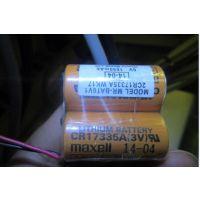 三菱 PLC 电池 MR-BAT6V1,2CR17335A WK17 6V 锂电池