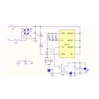 供应LED电源驱动IC-莱士LIS8517 隔离18-45W