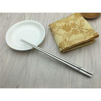 食品级304不锈钢筷子 彩色激光筷 日韩式不锈钢勺筷套装 礼品套装
