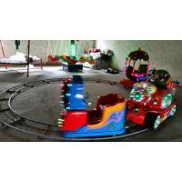 游乐园小火车玩具设施 超市门口放个四节小火车生意好 临沂小火车厂家
