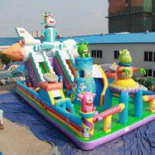 郑州新款火箭滑梯生产厂家/心悦航天飞机充气城堡/pvc太空基地冲气蹦床15X8米小型火箭充气滑梯