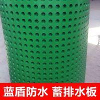 宏鑫源(HDPE)高密度聚乙烯防护出排水板 0.7mm 楼顶屋顶花园绿化环保阻根
